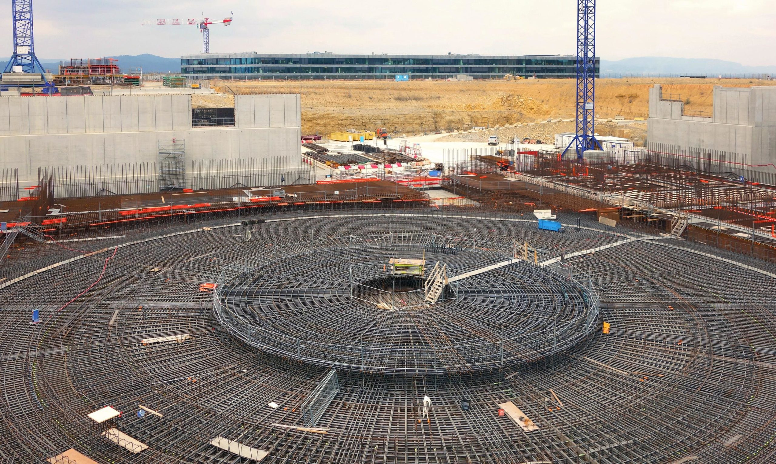 ITER Under Construction